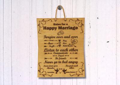 Medinės namų taisyklės