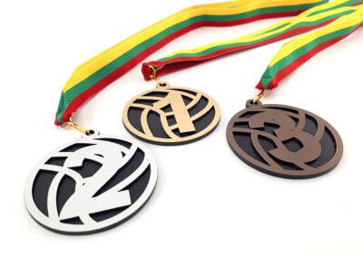Medalių gamyba